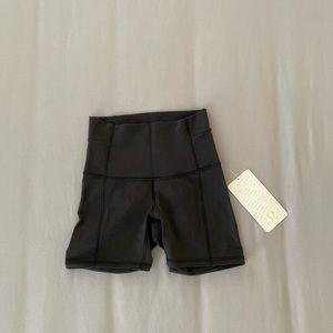 Lululemon winder high waisted shorts